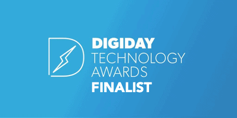 Digiday Technology Award Finalist
